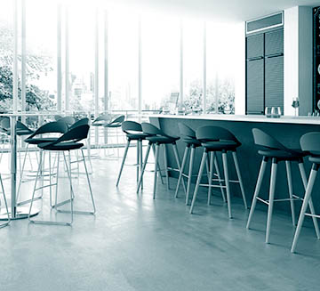 modern design stools for kitchen island, pizzeria and snack bar