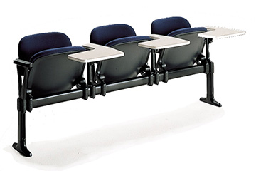 theatre lecture hall aluminum bench seating with tablet LaMia