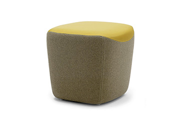 colorful poufs ottomans with modern design Victoria