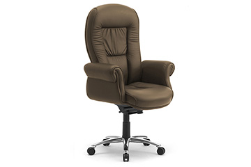 executive classic office chairs with upholstered arms Doge Lux