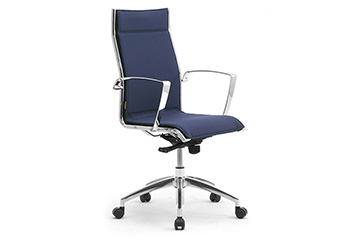 seating office chairs conference with chrome Origami LX