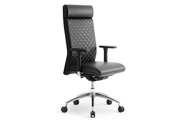 executive design leather office chairs with headrest Supremo
