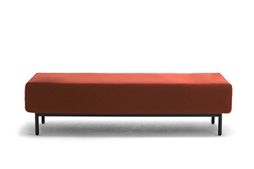 sofa benches for shopping centre with usb charger Around