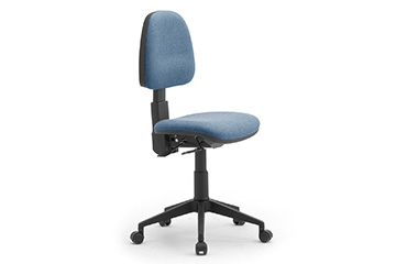 Task office seating with castors Comfort Jolly