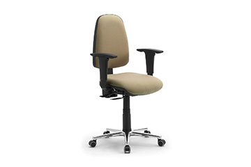 Task office chairs with arms Synchron Jolly
