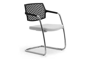 visitor cantilever reception stacking chair Spot
