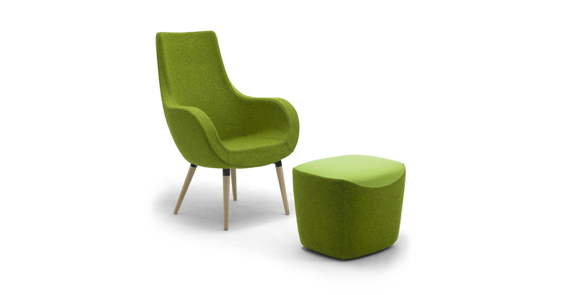 Lounge Chaise Design Seating Leyform