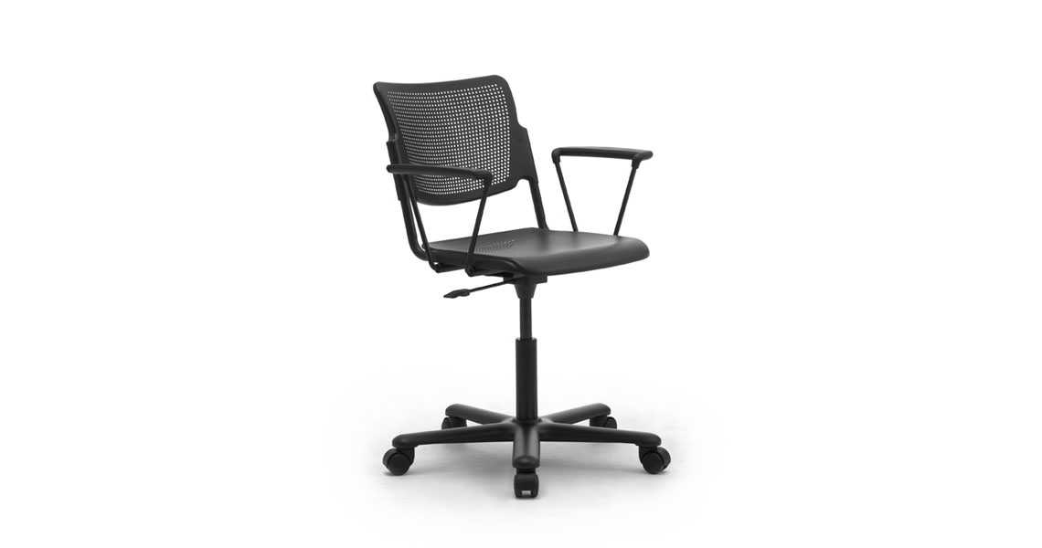 task office chairs with metal seat and back leyform
